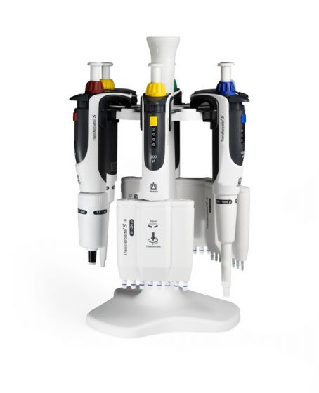 底座和支架,用于 Transferpette® S(2020 年以后型�) + Transferpette® electronic|移液��支架,支架