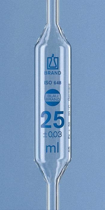 球型移液器, BLAUBRAND®, 等� AS, 1 �慰潭�, AR-GLAS®, DE-M|移液管